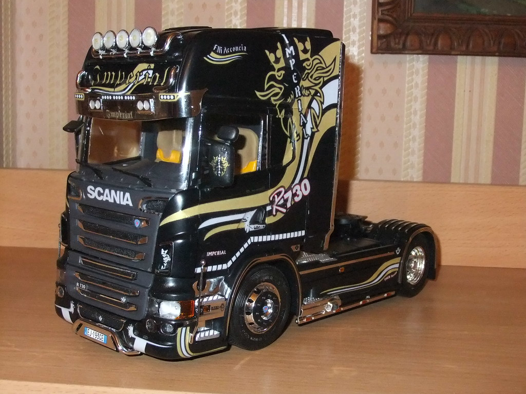 Maquette Camion Food Truck