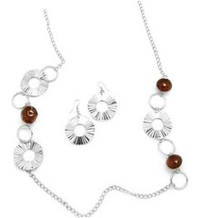 5th Avenue Brown Necklace P2310A-1
