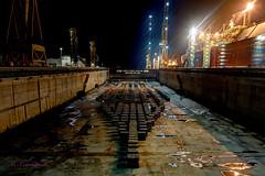 NKOM night (Richard_Turnbull) Tags: nikon ship blocks shipyard drydock hdr qatar d600 refit raslaffan nkom qflex alkaraana dockbottom