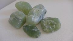 Jade (tanetahi) Tags: green pebbles jade nephrite