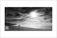 sea u soon....!!! (Emmanuel DEPARIS) Tags: sea white black beach portugal nikon emmanuel nazar deparis