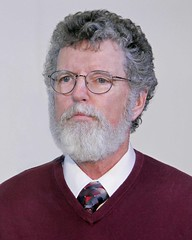 Professor (E.B Anderson Photo-Email: billybob1959a@gmail.com) Tags: red portrait color beard glasses theater serious background actor scholar professor gaze
