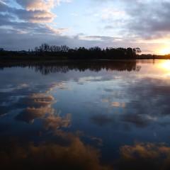 Ciel profond *** (Titole) Tags: sky reflection clouds squareformat friendlychallenges thechallengefactory bassindetrévoix trévoix storybookwinner titole nicolefaton