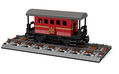 Lego Christmas Steam Train (Mr Sanders) Tags: santa christmas xmas train lego father engine noel steam gifts presents fatherchristmas steamtrain moc