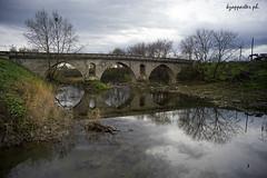 Mascholouri (kzappaster) Tags: bridge reflection sony greece vivitar a7 stonebridge 19mm thessaly karditsa mirrorless vivitar19mmf38 sonya7 compactsystemcamera mascholouri sofades