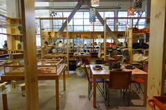 HEATH Factory Showroom (Heath & the B.L.T. boys) Tags: sanfrancisco california ceramic factory heath pottery shelves