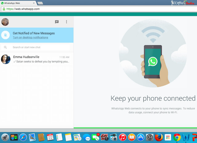 How to use WHATSAPP WEB Version on Laptop or Desktop