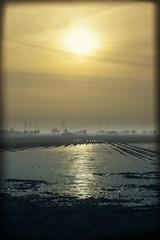 Sun on Ice small (J.P.S. Willemsen) Tags: winter sun mist cold ice netherlands fog zon buiten willemsen ijs jps vorst bourtange vriezen bourtangenederland