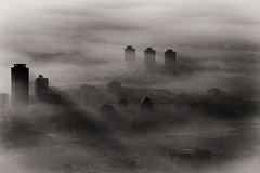 My foggy dirty City at the end of the first day of the Year (drugodragodiego) Tags: brescia lombardia italy city town fog nebbia 2015 biancoenero blackandwhite bw buildings architecture pentax k3 pentaxk3 sunset tramonto pentaxiani smcpentaxda55300mmf458ed pentaxda55300mm greatphotographers pentaxart pentaxlife fotocult