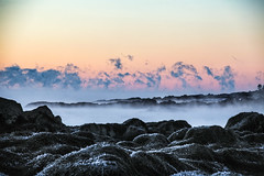 Smoke On The Water (Robert Allan Clifford) Tags: morning winter sea cold ice water sunrise frozen smoke newengland newhampshire nh arctic seasmoke robertallanclifford robertallancliffordcom