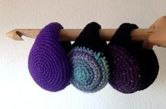 ear warmers (Mamipaula y Pipocass Handmade) Tags: wool handmade earmuffs giftideas earwarmers orejeras winteraccesories pipocasshandmade unisexearmuffs