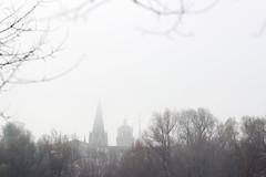 (cristina or) Tags: city cold church fog iglesia ciudad logroo niebla frio
