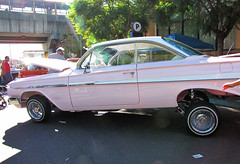 Custom Pink Cadillac (shaire productions) Tags: pink car automobile image girly feminine picture cadillac photograph vehicle custom lowrider