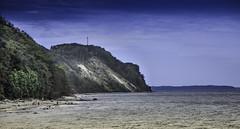 Die Aussicht genieen (Schmidter1979) Tags: strand meer wasser himmel berge aussicht rgen ostsee