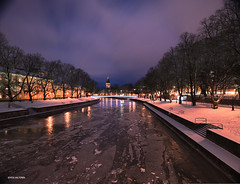 Turku_DSC2347 (vesa_aaltonen) Tags: beautiful night suomi finland river cityscape silent turku aura maisema urbanlandscape aurajoki kaunis rauhallinen kaupunkimaisema