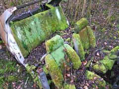 Siges en mousse naturelle ! (Raphael Drake) Tags: nature car 33 alfa romeo wreck alfaromeo abandonne abandonned epave alfa33