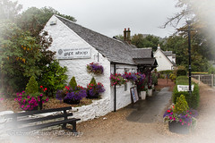 The Gift shop at luss Scotland (Andrew Lancaster photography) Tags: flowers house flower shop scotland cottage gift luss