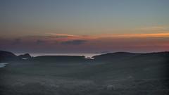 Aftersun and Foula (DSC_7938) (AngusInShetland) Tags: sunset scotland twilight nikon shetland foula dunrossness scousburgh spiggie d3200