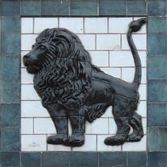 lion tile (zaphad1) Tags: texture motif tile 3d decoration lion free delft deco seamless