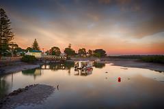 Tooradin Sunrise (Thunder1203) Tags: longexposure sunrise fishing houseboat slowshutter inlet nik hdr tooradin canon7d thunder1203