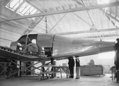 Robert Reedy Collection Image (San Diego Air & Space Museum Archives) Tags: nx21725 aviation aircraft airplane lockheed lockheedstarliner starliner prototype menascomotors menasco menascounitwin2544 menascounitwin unitwin2544 unitwin aircraftmanufacturing