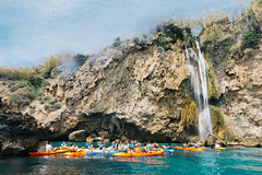 End of the route (Leo Hidalgo (@yompyz)) Tags: camera espaa love film photography spain kayak underwater random cam sony like housing iv mlaga nerja fotografa rx100 vsco meikon ileohidalgo yompyz