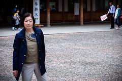 Mfiance (www.danbouteiller.com) Tags: japan japon japanese japonaise japonais tokyo yasukuni jinja shrine temple park parc  shinto  people femme woman pose canon canon5d eos 5dmk2 5d 50mm 50mm14 5d2 5dm2
