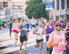 Bay to Breakers 2016 (CarbonNYC [in SF!]) Tags: sf costumes race costume running runners runner tutu baytobreakers bay2breakers pinktutu