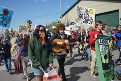 DSC00830 (Break Free Midwest) Tags: march midwest break protest free 350 bp whiting breakfree 350org breakfree2016