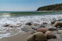 Breaking (ScotiaViolet) Tags: beach rocks waves novascotia coastal e queensland za f4 oss 1670mm sonya6300 ilce6300