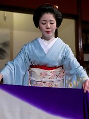 Tsuruha-san (Rekishi no Tabi (back, briefly)) Tags: leica japan kyoto geiko geisha gion gionkobu tsuruha