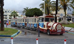 Moncho Tren S.A. - 2941 HTW; Puerto Marina - Tivoli Tour; Calle la Frigata, Puerto Marina, Benalmdena; 10-05-2016 (graeme8665) Tags: benalmdena roadtrain deltrain
