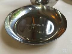 DIN at Bauernwald  Pt. 2 (Albert-Jan Pool) Tags: lettering engraved schale gravur beschriftung graviert tafelsilber bauernwald engravedlettering
