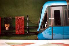 Metro (nypan_sthlm) Tags: street train subway metro stockholm trainstaion