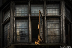 An open window (zolaczakl ( 2 million views, thanks everyone)) Tags: uk england southwest window bristol curtain openwindow backpackers ststephensst nikond7100 photographybyjeremyfennell sigma1835mmf18dchsmlens oldbristoltimesmirrorbuilding