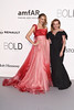 CAP D'ANTIBES, FRANCE - MAY 19: Petra Nemcova and Caroline Scheufele arrive at amfAR's 23rd Cinema Against AIDS Gala at Hotel du Cap-Eden