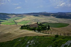 Like a painting (Antonio Cinotti ) Tags: italy landscape spring nikon italia hills tuscany siena toscana rollinghills paesaggio colline cretesenesi asciano campagnatoscana d7100 nikon1685 baccoleno nikond7100