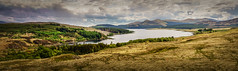 Loch Doon Panorama - 2016-05-22 13-54-28 - DSC01153-pano (colin.mair) Tags: panorama water sony hill loch hillside doon ilce6000