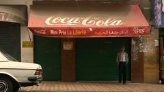 Coca-Cola [EXPLORE 2016-05-27] (pix-4-2-day) Tags: street scene casablanca morocco cocacola man closed shop geschäft geschlossen marokko rot red mercedes benz grün green front mini prix la liberté warten waiting markise awning pix42day explore explored