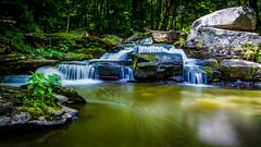 Flowing Free On A Summer Day (Catskills Photography) Tags: longexposure forest waterfall rocks stream odc signsoftheseason canon1022mmlens leebigstopper