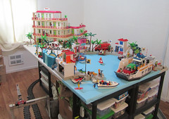 Diorama Room 1 (TimSpfd) Tags: playmobil toys diorama harbor hotel