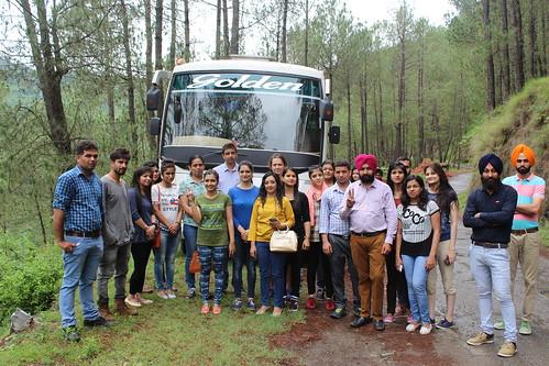 LinguaSoft EduTech's Adventurous samiksha trip at Peach Valley Rajgarh #Samiksha #Tour #PeachValley #Rajgarh #nature #awesomeweather #adventure
