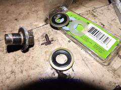 Mastermanship 4 by Shervin Asemani (6) (SheRviNRRR) Tags: drain plug gasket washer rubber metal metallic leakage oil shervin asemani