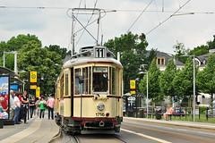 Groer Hecht #1716+1314 Straenbahnmuseum Dresden Drezno (3x105Na) Tags: germany deutschland dresden tram sachsen strassenbahn tramwaj hecht groser niemcy drezno saksonia waldschlschen strasenbahnmuseum 17161314
