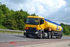 Mercedes Benz Actros MP4 'JET' (Wincanton) reg YJ65 DLF (erfmike51) Tags: jet lorry artic tanker wincanton euro6 mercedesbenzactrosmp4