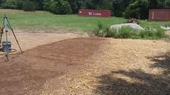 Utility Site Terraforming (Final) (NerdAcres) Tags: grass site earth seed straw utility dirt preparation prep watering earthwork 2016 seeding terraforming