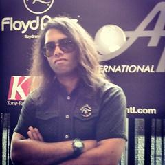 Sergio Michel at NAMM - Floyd Rose (sergiomichelmusic) Tags: music rose rock nashville guitar hard anaheim floyd hardrock namm floydrose nammshow summernamm