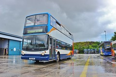The next to go... (South West Transport News) Tags: travel west south plymouth dennis johnsons stagecoach redfern mansfield trident 17051 t651kpu
