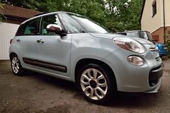 FIAT 500L Lounge (35mmMan) Tags: fiat 500l largo powder blue coffeecream ltd edition italian car tessa