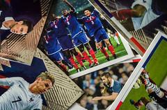 football cards (ericbeaume) Tags: macro closeup cards 50mm football nikon 18g macromondays d5100 ericbeaume